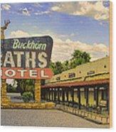 Old Buckhorn Baths Wood Print