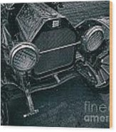 Old Buick Wood Print