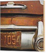 Old Buick Wood Print by Mark Weaver