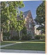 Old Campus Michigan State University Wood Print