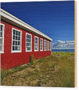 Old Cannery Building Wood Print