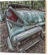 Old Car 3 Wood Print