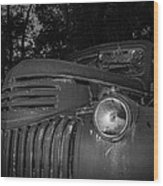 Old Chevy Truck 2 Wood Print