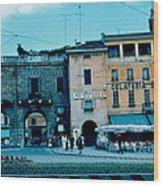 Old City Gate Vicenza 2 1962 Wood Print