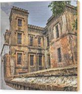 Charleston City Jail  Wood Print