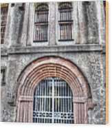 Old City Jail Entrance Wood Print