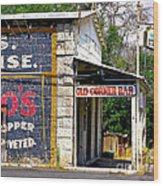 Old Corner Bar - Dayton - Nevada Wood Print