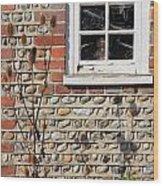 Old Cottage Window Sussex Uk Wood Print