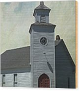 Old Country Church Wood Print