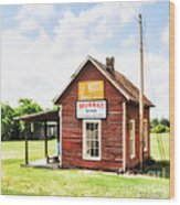 Old Country Cotton Gin Store -  South Carolina - I Wood Print
