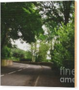 Old Country Road - Peak District - England Wood Print