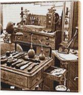 Old Dentistry Wood Print
