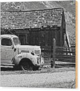 old Dodge Wood Print