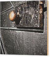 Old Door Lock Wood Print by Olivier Le Queinec