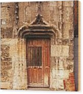 Old Doorway Cahors France Wood Print by Colin and Linda McKie