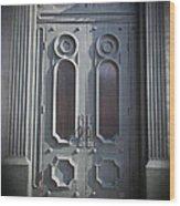 Old Doorway Quebec City Wood Print