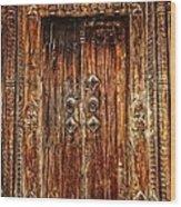 Old Doorway Wood Print