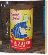 Old Dutch Wood Print
