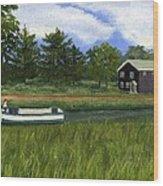 Old Erie Wood Print