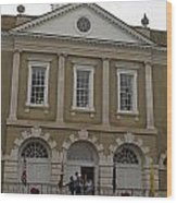 Old Exchange And Customs House Charleston South Carolina Wood Print