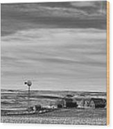 Old Farm - Baseline Road - Waterville - Waterville - Washington - May 2013 Wood Print