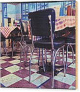 Old Fashion Grill Wood Print by Susan Stone