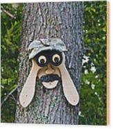 Old Fashion Security Camera Wood Print