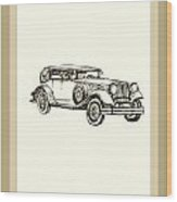 Old Fashion Wood Print