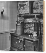 Old Fashioned Richardson And Bounton Company Perfect Stove. Wood Print