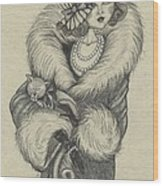 Old-fashioned Wood Print