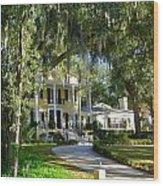 In Old Florida Wood Print