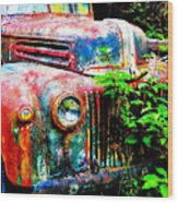 Old Ford #2 Wood Print