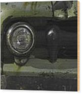 Old Ford Pickup Truck Wood Print