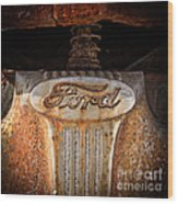 Old Ford Square Format Wood Print