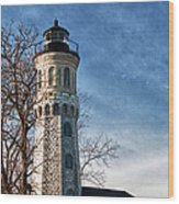 Old Fort Niagara Lighthouse 4478 Wood Print
