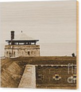 Old Fort Niagara North Redoubt Wood Print