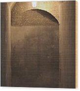 Old Fort Passageway Wood Print