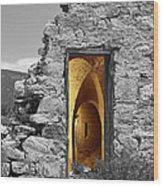 Old Fort Through The Magic Door Wood Print