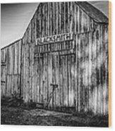 Old Fort Wayne Blacksmith Shop Wood Print