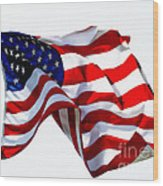 America The Beautiful Usa Wood Print