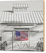Old Glory Circa 1776 Wood Print by Edward Fielding
