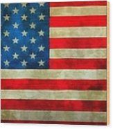 Old Glory Wood Print by Dan Sproul