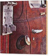 Old Glory Days Door Limited Edition Wood Print
