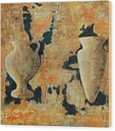 Old Greece Wood Print