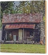 Old Haus Wood Print by Kelly Kitchens