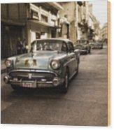 Old  Havana  Street Wood Print