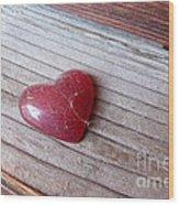 Old Heart Wood Print