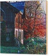 Old Home II Wood Print