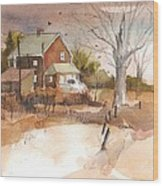 Old Home Place Wood Print by Robert Yonke