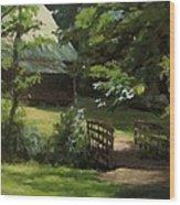Old Homestead Wood Print